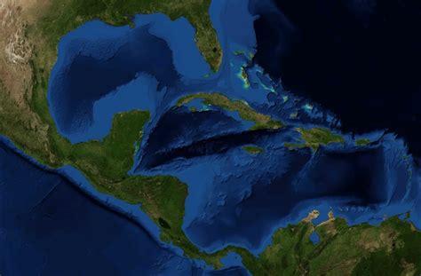 Imagenes Satelitales Mar Caribe | mapa de cuba satelital
