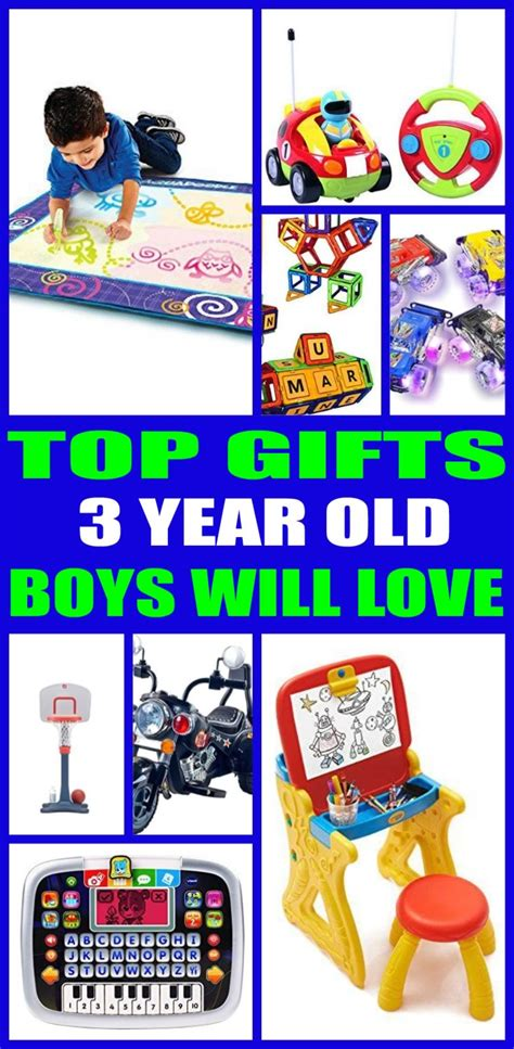 present ideas for a 3 year best gifts for 3 year boys