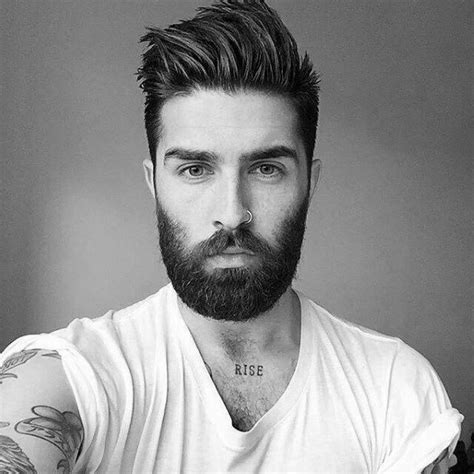 Hairstyles For With Beards by 50 Hairstyles For With Beards Masculine Haircut Ideas