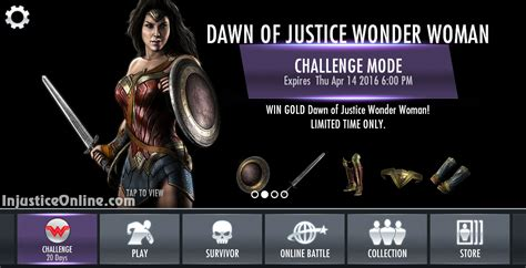 injustice gods among us new challenge of justice challenge for injustice