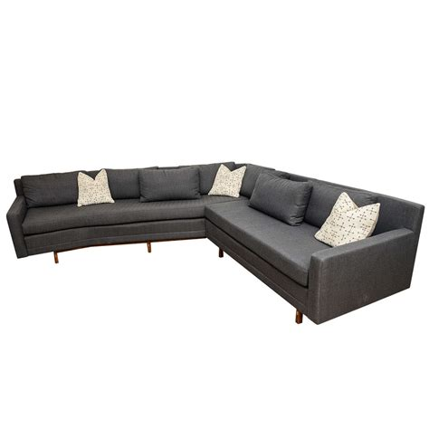 paul mccobb sleek mid century modern vintage sectional
