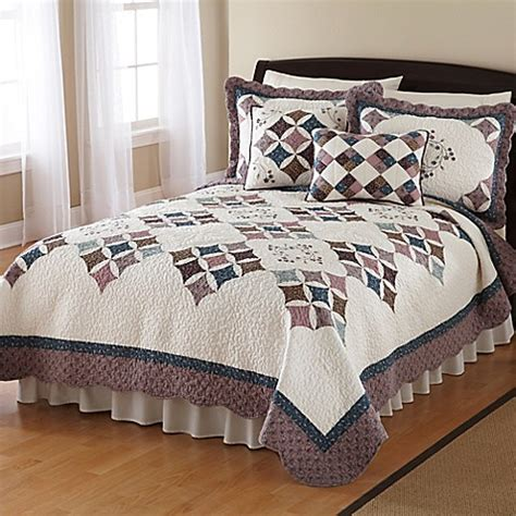 nostalgia home britta quilt bed bath beyond
