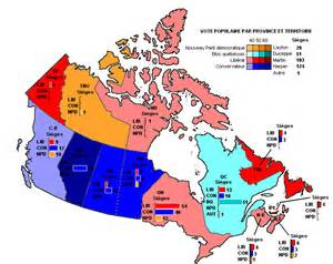 canada map and capital cities file canada 2006 carte vote populaire png wikimedia commons