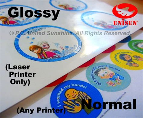 Paper To Make Stickers - a4 sticker paper matte simili creative