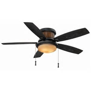Outdoor Flush Mount Ceiling Fan Hton Bay Indoor Outdoor Flush Mount Hugger Ceiling Fan