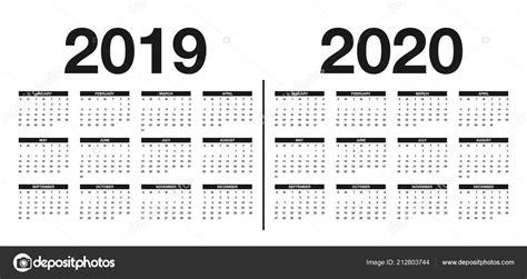 kalender   sjabloon kalender ontwerp zwarte witte kleuren vector stockvector