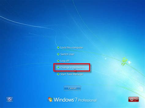 windows reset domain password how to change your business domain password on a windows 7