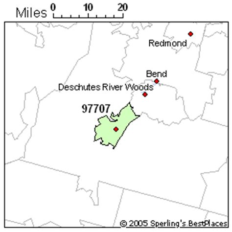 map of bend oregon zip codes best place to live in bend zip 97707 oregon