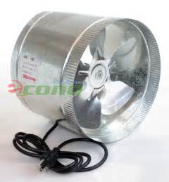 8 inch duct fan 8 quot 10 quot inch duct booster fan exhaust vent air cooled