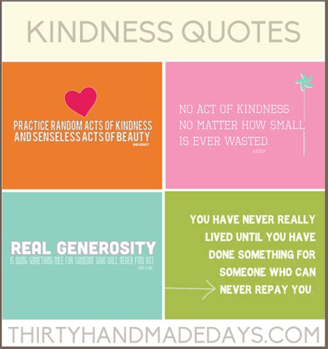 kindness quotes including 4 free printables