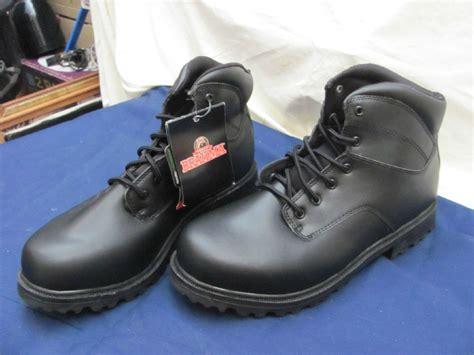 mens brahma boots brahma mens black work boots size 12w ebay