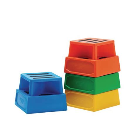 Heavy Duty Plastic Step Stool by Heavy Duty Plastic Steps Available In 5 Colours And Stackable