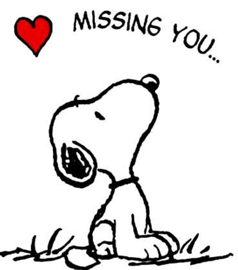 imagenes de i will miss you snoopy missing you image quote pictures photos and