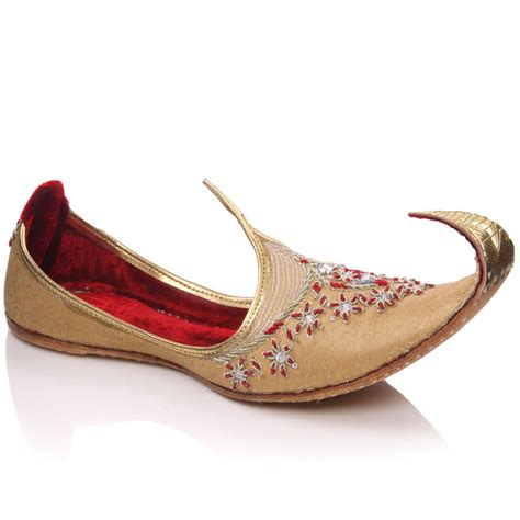 indian shoes unze este mens leather indian khussa shoes size uk 7