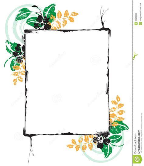 cornice floreale cornice floreale fotografie stock immagine 24930663