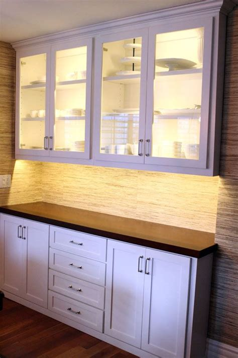 white built in cabinets in dining room crafts breakfast nooks and see through on