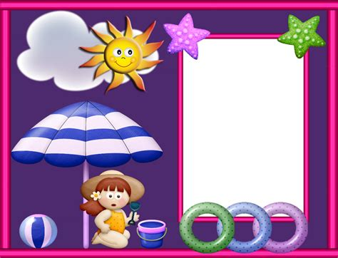 imagenes infantiles png gratis recursos infantiles marcos para fotos infantiles