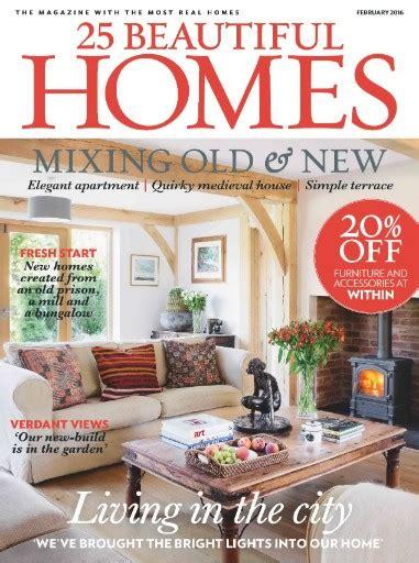 home magazine online 25 beautiful homes magazine subscription 25 beautiful