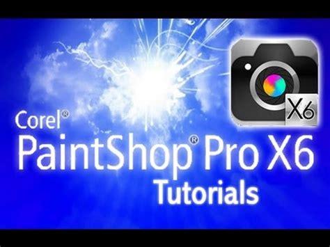 pro tutorial paintshop pro x6 tutorial for beginners general