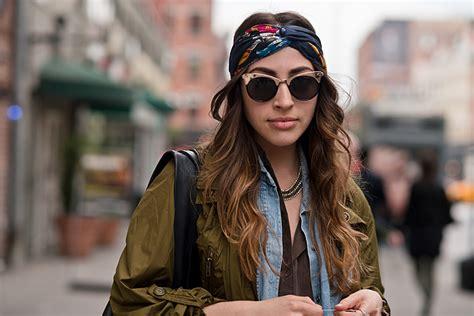street style hair scarves new york lord ashbury