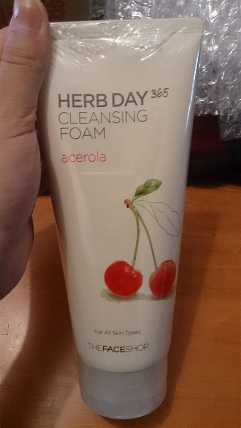 Shop Herb Day 365 Cleansing Foam Original the shop herb day 365 cleansing foam acerola the