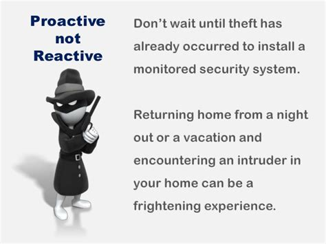 why do you need a home security system