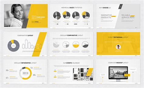 powerpoint design creative powerpoint template on behance