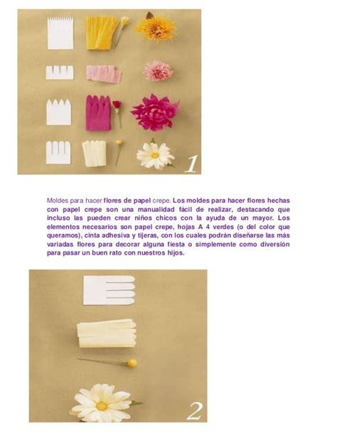 moldes de flores de papel moldes para papel crepe