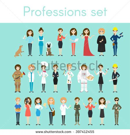 imagenes mujeres profesionales readytouse character set male office clerk stock vector