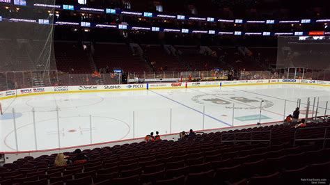 section 117 wells fargo center wells fargo center section 111 philadelphia flyers