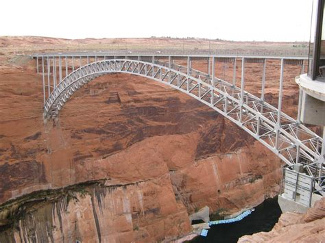 Where Was The Marble Dam Supposed To Be Built - navajobridge just downriver from the dam
