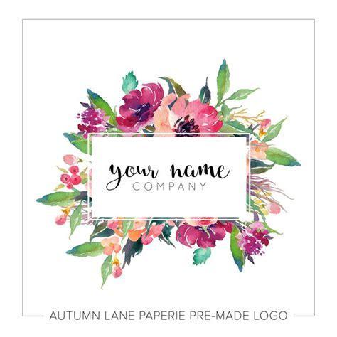 13 best wedding card images on Pinterest   Floral logo
