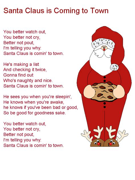 Santa Claus Coming cantores infantiles santa claus is coming to town