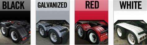 minimizer fenders minimizer  single axle poly fenders heavy duty semi truck fenders