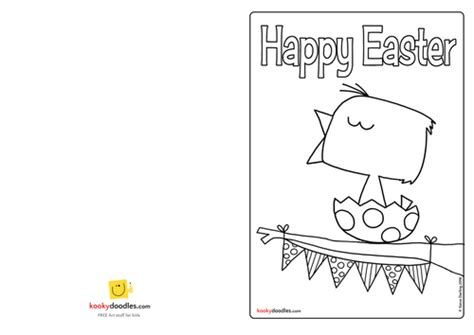 Easter Card Template Tes by Make An Easter Card By Kookydoodles Teaching