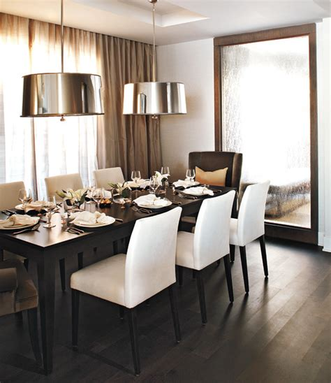 Modern Mirrors For Dining Room Black Velvet Chair Wingback Chair At The Dining Table