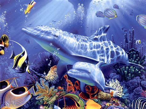 wallpaper terbagus di dunia lumba lumba lucu animal planet
