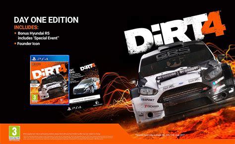 Ps4 Dirt 4 Day One Edition ps4 dirt 4 day one edition exasoft cz