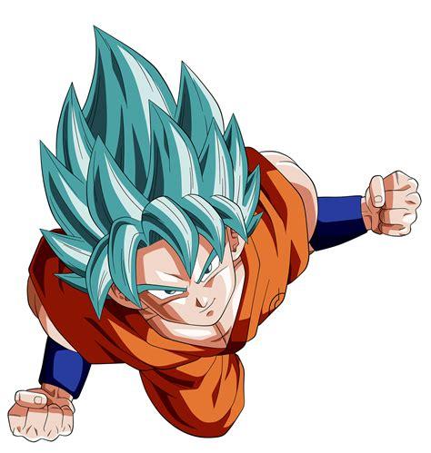 imagenes de goku pelo azul baixar renders do dimy render goku ssj god azul
