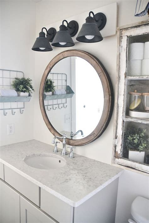farmhouse bathroom vanity mirror diy farmhouse bathroom vanity light fixture vanity light fixtures bathroom vanities and