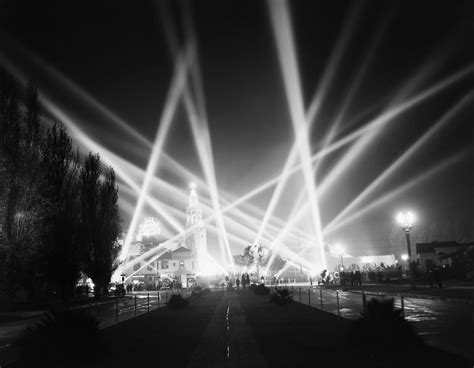 november 14 1940 hollywood searchlights light up the