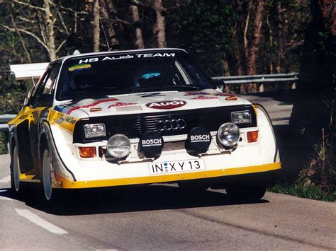 Audi Quattro 86 by Audi Sport Quattro S1 Group B Rally Car 1985 86