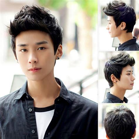 Fashion Men Handsome Short Hair Sexy Korean Boys Male Wig   aliexpress com buy fashion men handsome short hair sexy