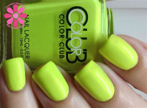 Not So Mellow Yellow by Color Club Poptastic Collection Swatches Review