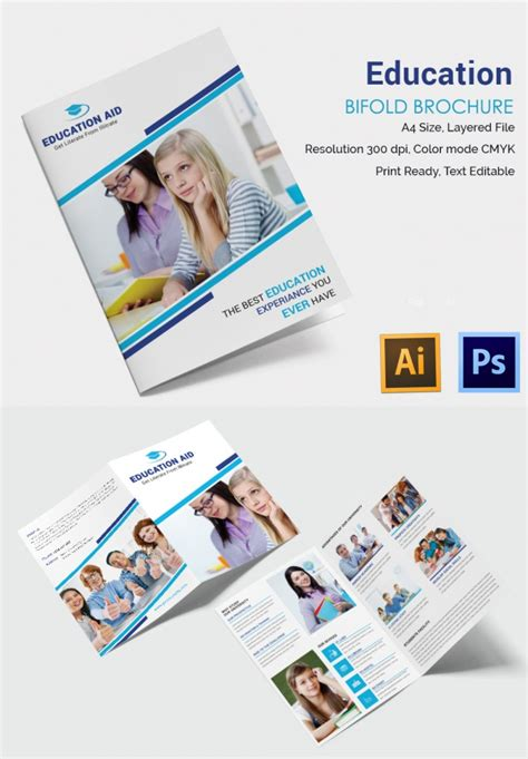 educational handout template education brochure template 43 free psd eps indesign