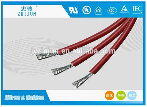 high voltage silicone rubber wire high voltage silicone rubber coated electric leading wire