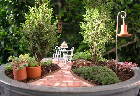 tiny garden miniature gardens art is a way