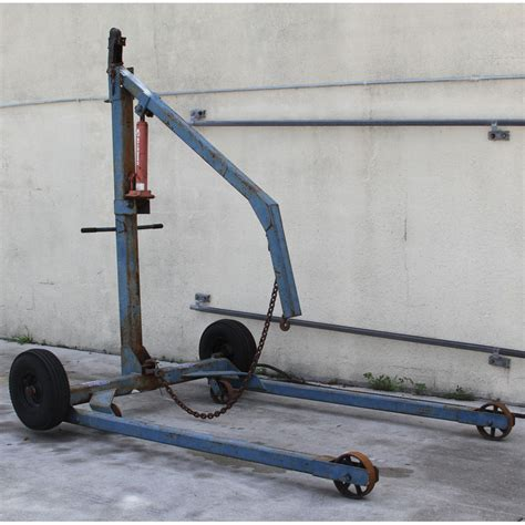 boat engine lift bluebird international tip tow 10 towable engine lift
