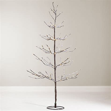buy john lewis 4ft pre lit snowy twig christmas tree