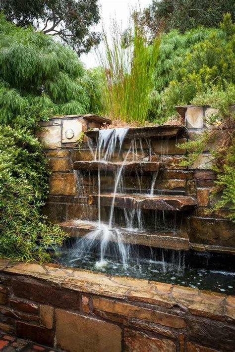 natural  waterfall cascade green landscape outdoor